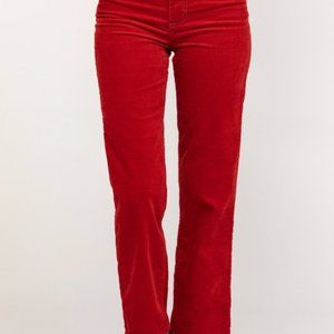 Wrangler Red Denim